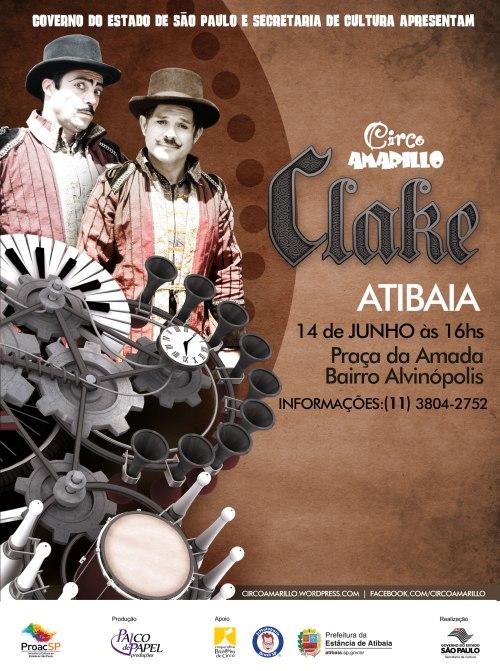 Clake em Atibaia-SP!